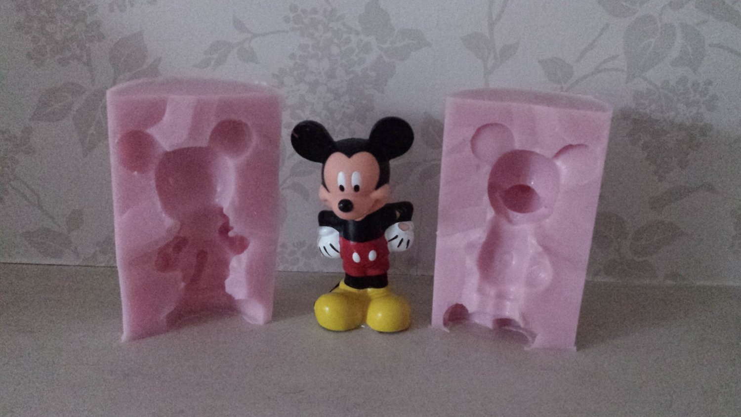 3D MEDIUM MICKEY MOUSE SILICONE MOULD