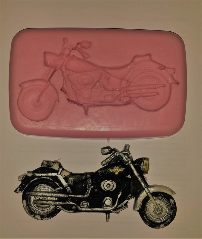 MOTORBIKE SILICONE MOULD