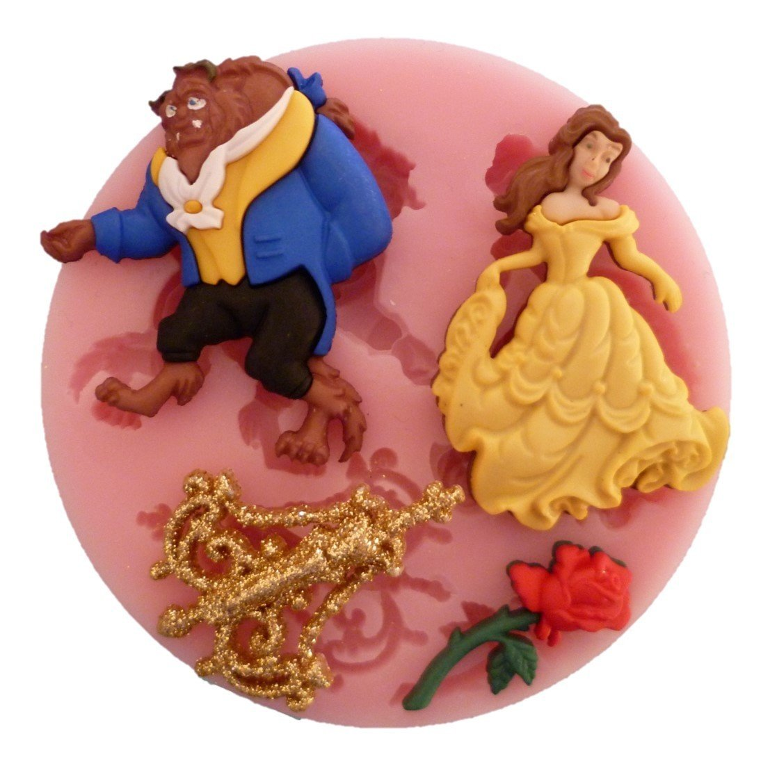 BEAUTY AND THE BEAST SILICONE MOULD