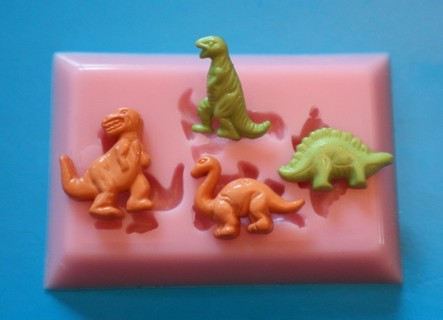 DINOSAURS SILICONE MOULD