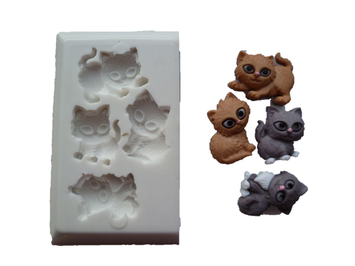 KITTENS SILICONE MOULD