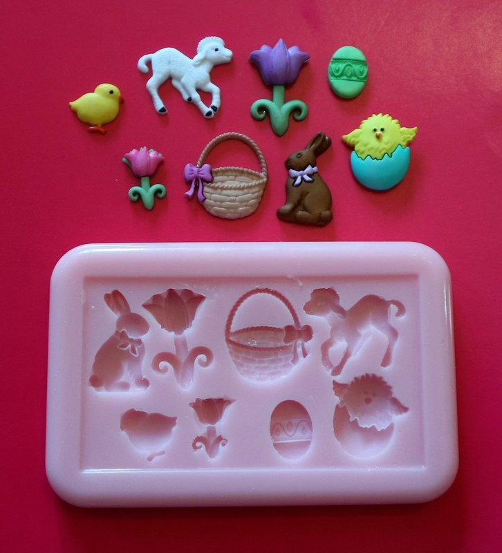 EASTER SET SILICONE MOULD