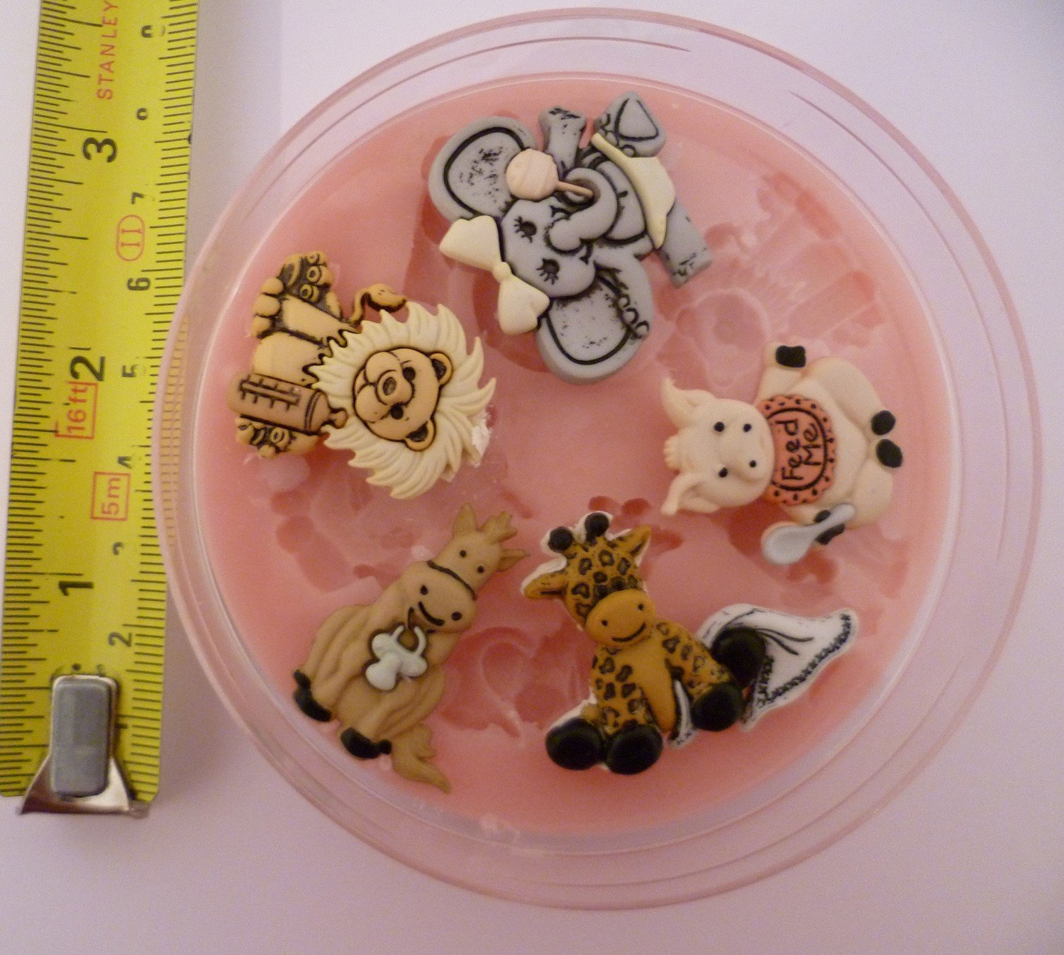 BABY ZOO ANIMALS SILICONE MOULD