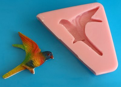 SWALLOW / HUMMING BIRD SILICONE MOULD