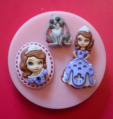PRINCESS SOFIA SET SILICONE MOULD