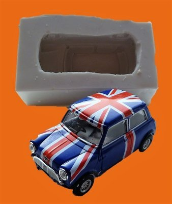 3D OLD STYLE MINI COOPER SILICONE MOULD