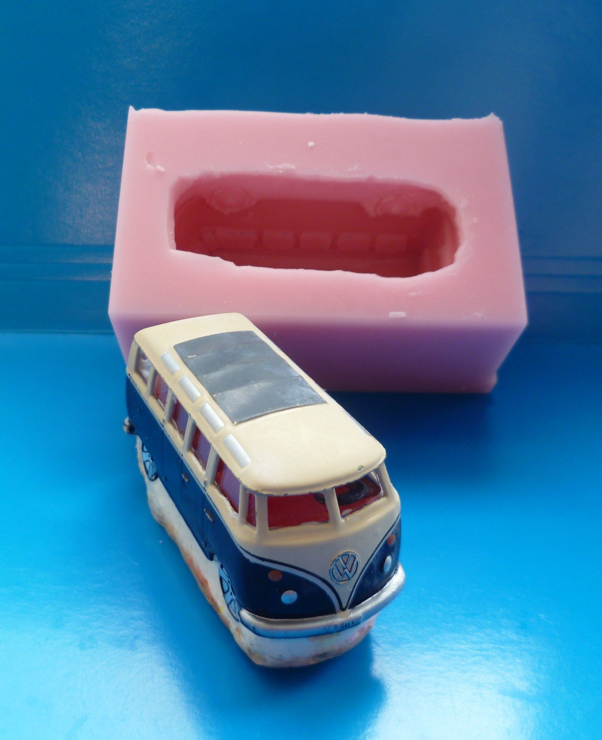 SMALL 3D VW CAMPERVAN SILICONE MOULD