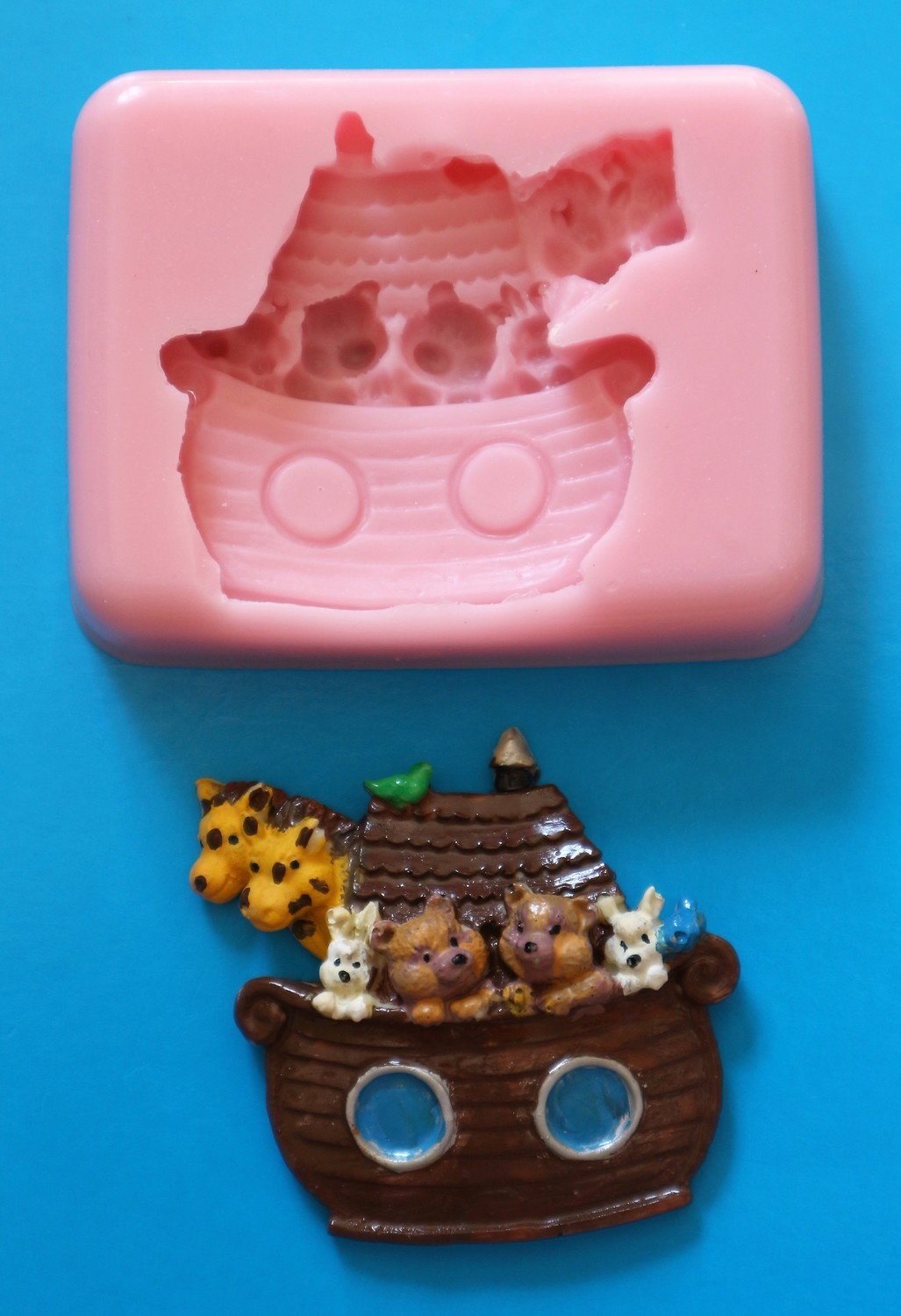 NOAH'S ARK SILICONE MOULD