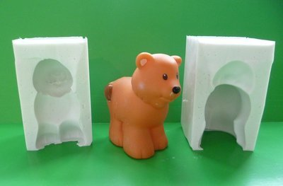 3D TIGER SILICONE MOULD
