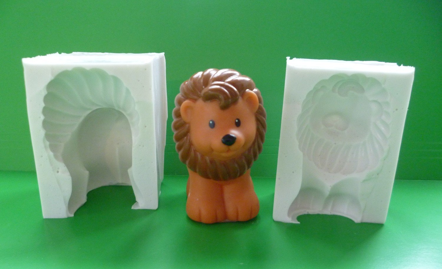 3D LION 2 SILICONE MOULD