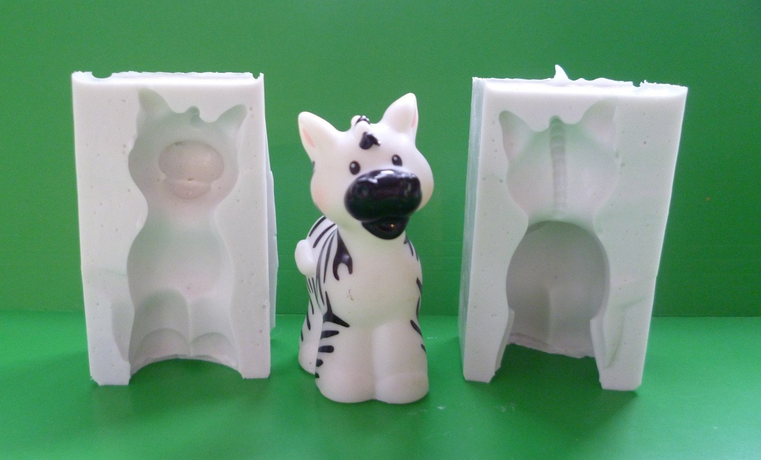 3D ZEBRA SILICONE MOULD