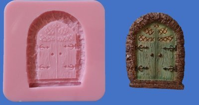FAIRY DOOR 001 SILICONE MOULD