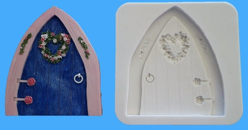 FAIRY DOOR 002 SILICONE MOULD