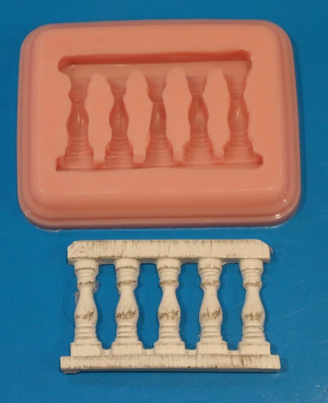 BALUSTRADE PILLAR SILICONE MOULD