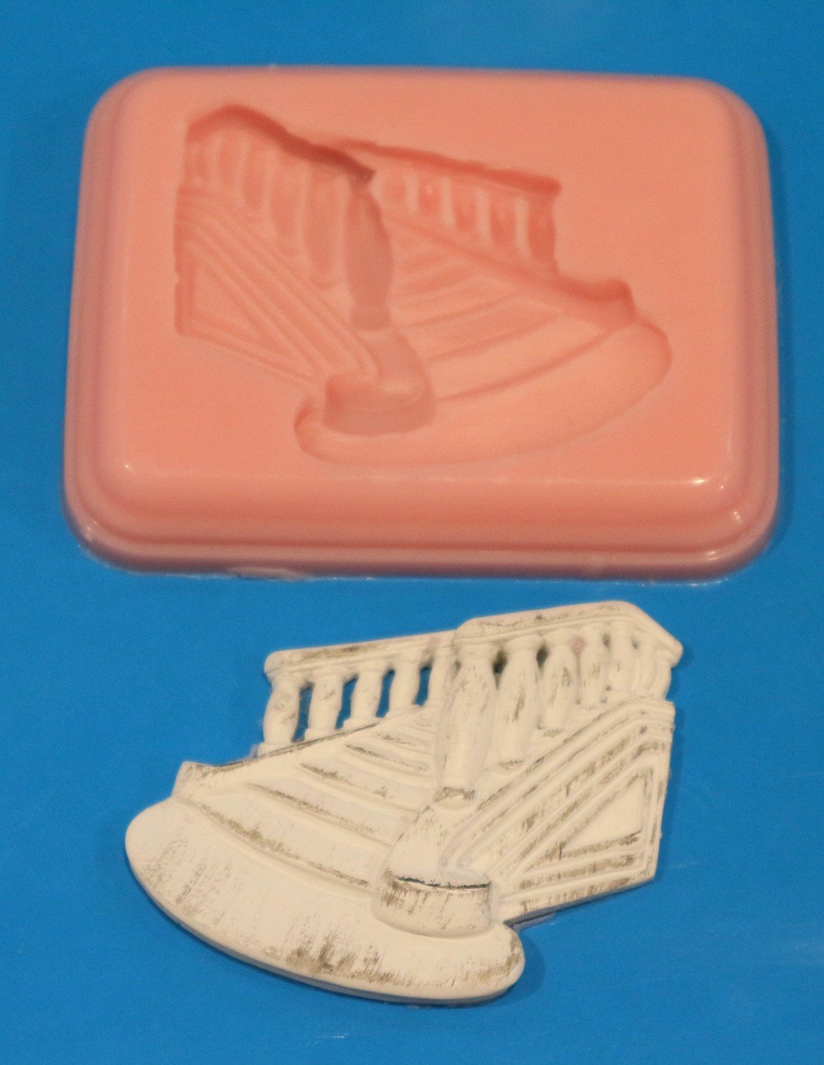 STAIRCASE PLAQUE SILICONE MOULD