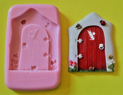 FAIRY DOOR 004 SILICONE MOULD