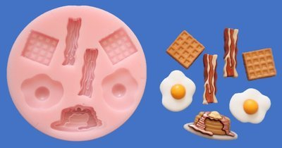 BREAKFAST SILICONE MOULD