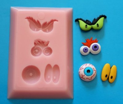 CRAZY EYES SILICONE MOULD