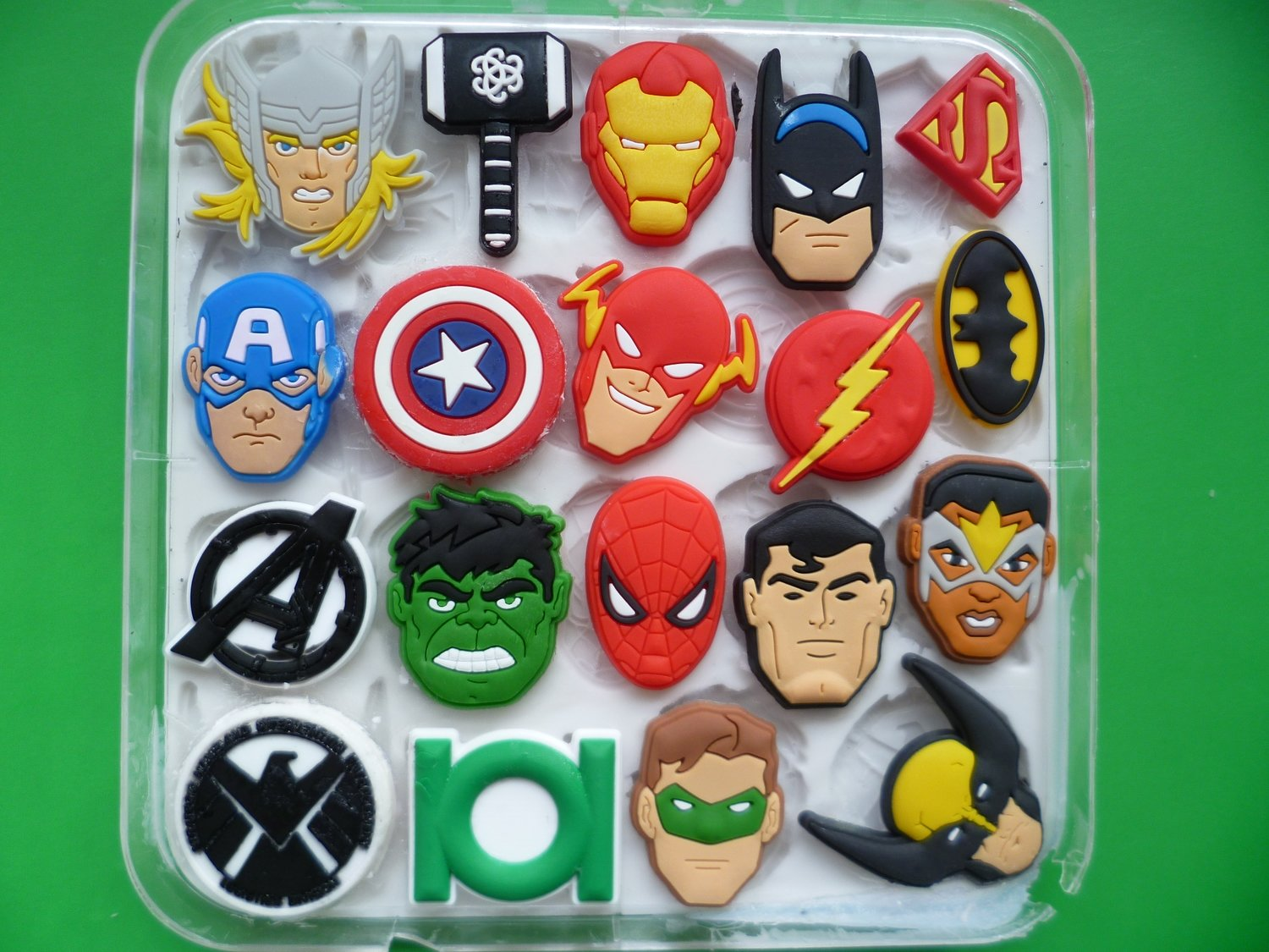 MARVEL SET SILICONE MOULD