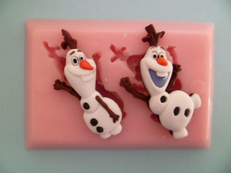 OLAF DUO SILICONE MOULD