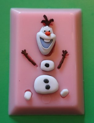 OLAF SILICONE MOULD