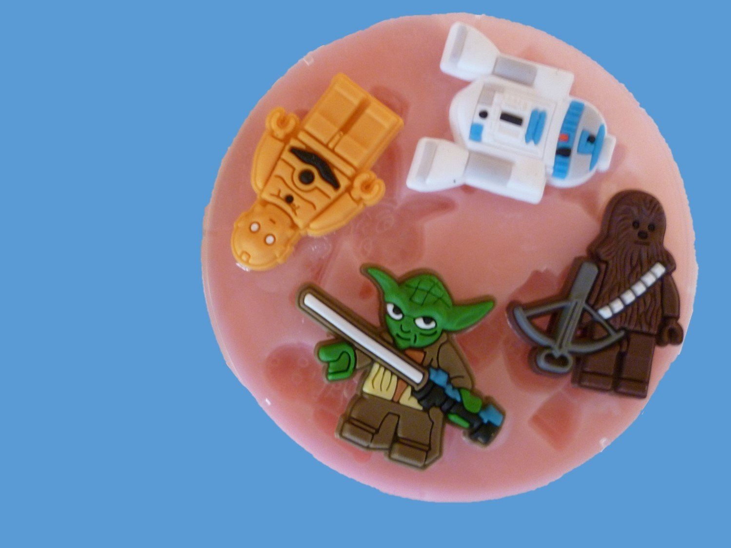 STAR WARS ROBOTS SILICONE MOULD