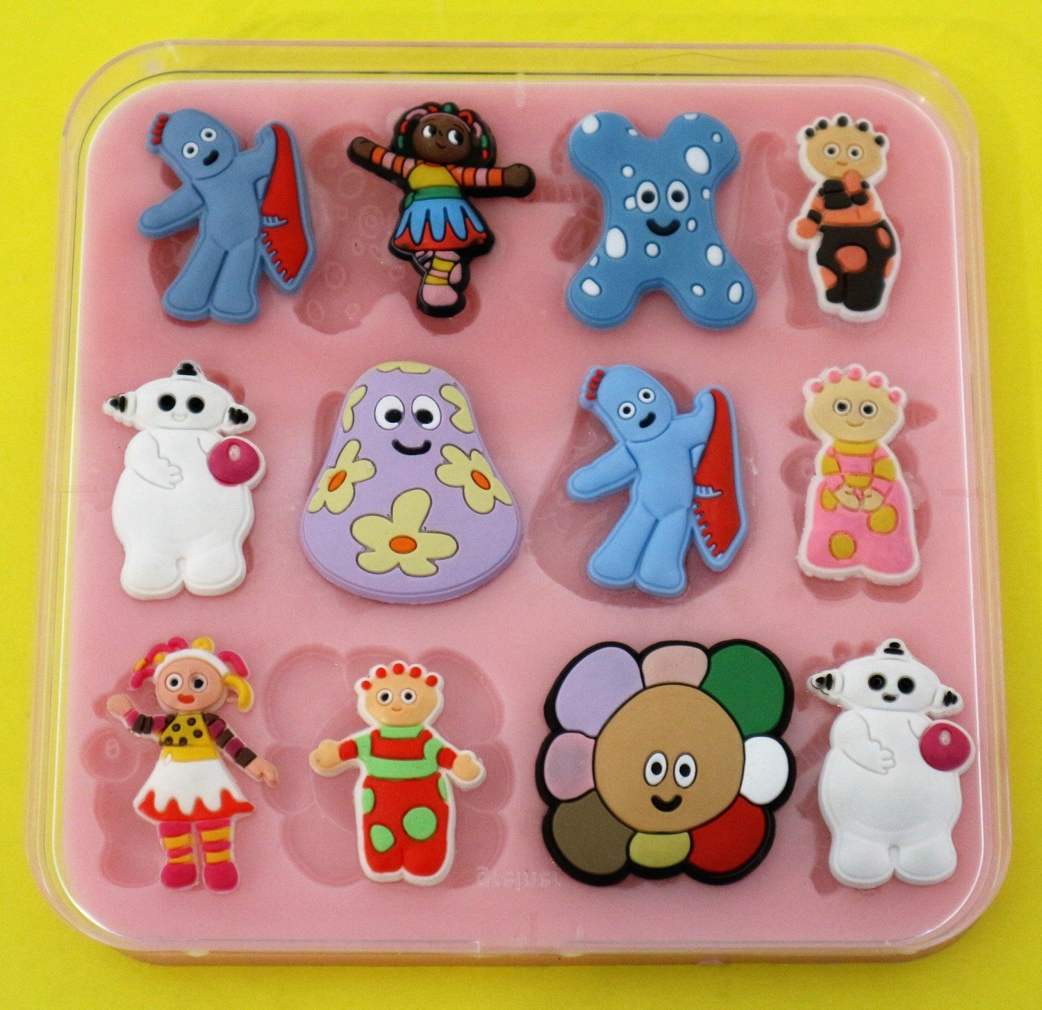 IN THE NIGHT GARDEN SET SILICONE MOULD
