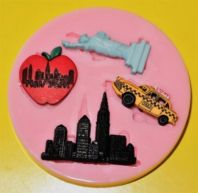 NEW YORK SILICONE MOULD