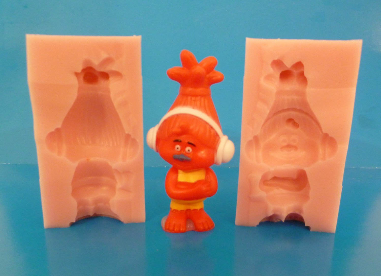 3D TROLL CHARACTER 002 SILICONE MOULD