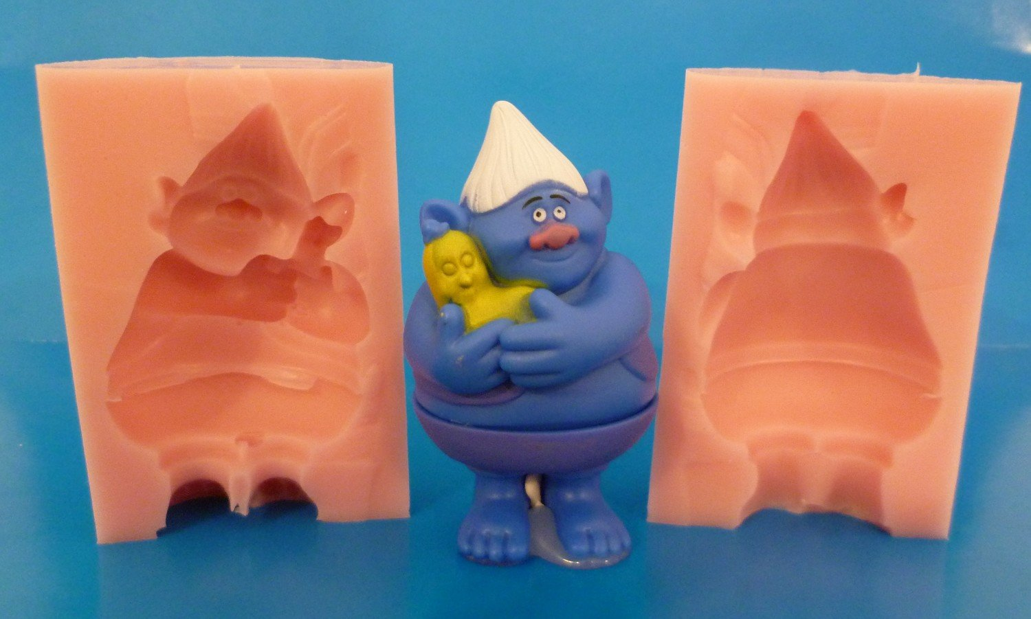 3D TROLL CHARACTER 004 SILICONE MOULD
