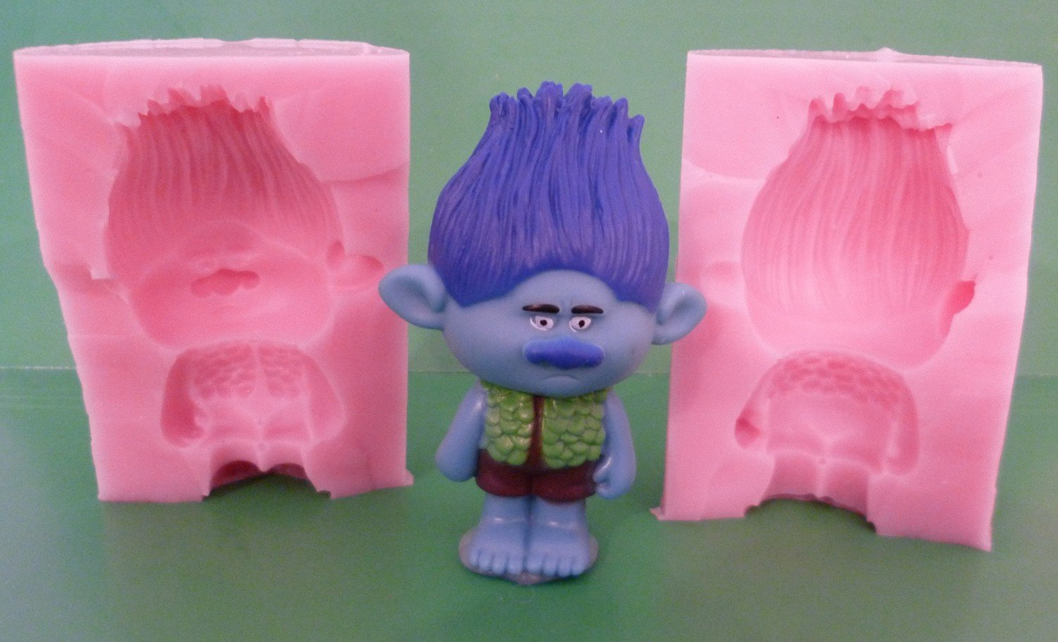 3D TROLL CHARACTER 005 SILICONE MOULD