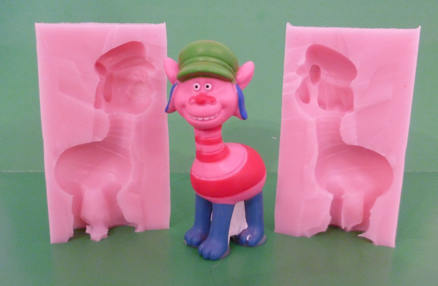 3D TROLL CHARACTER 006 SILICONE MOULD