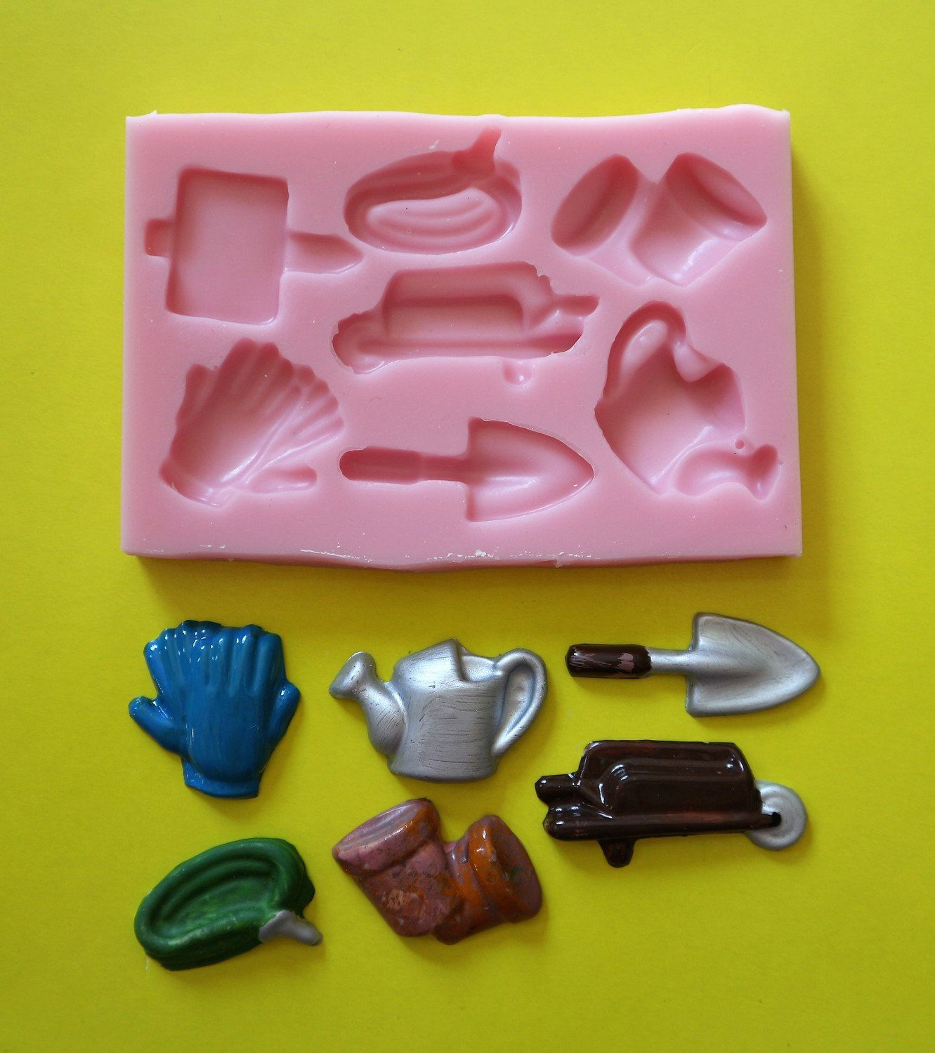 GARDENING SET 001 SILICONE MOULD