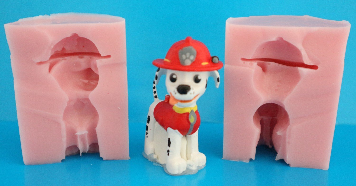 3D PAW PATROL MARSHALL SILICONE MOULD