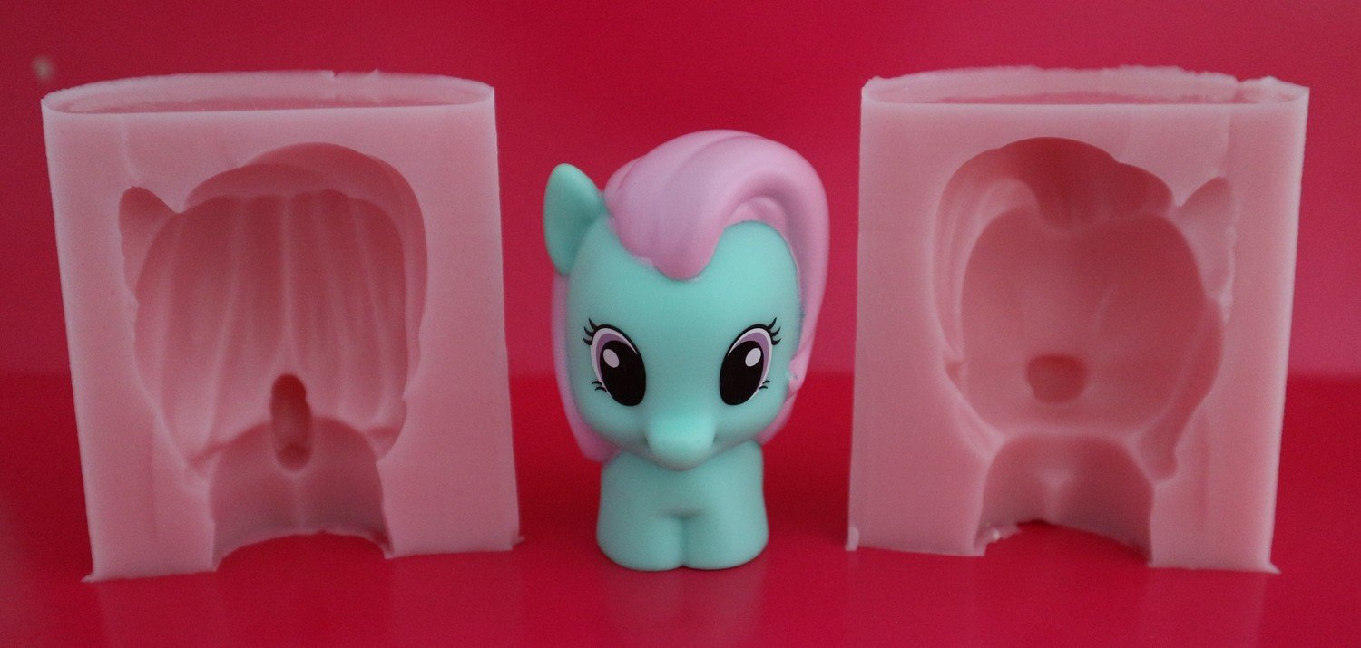 3D MINTY MY LITTLE PONY SILICONE MOULD