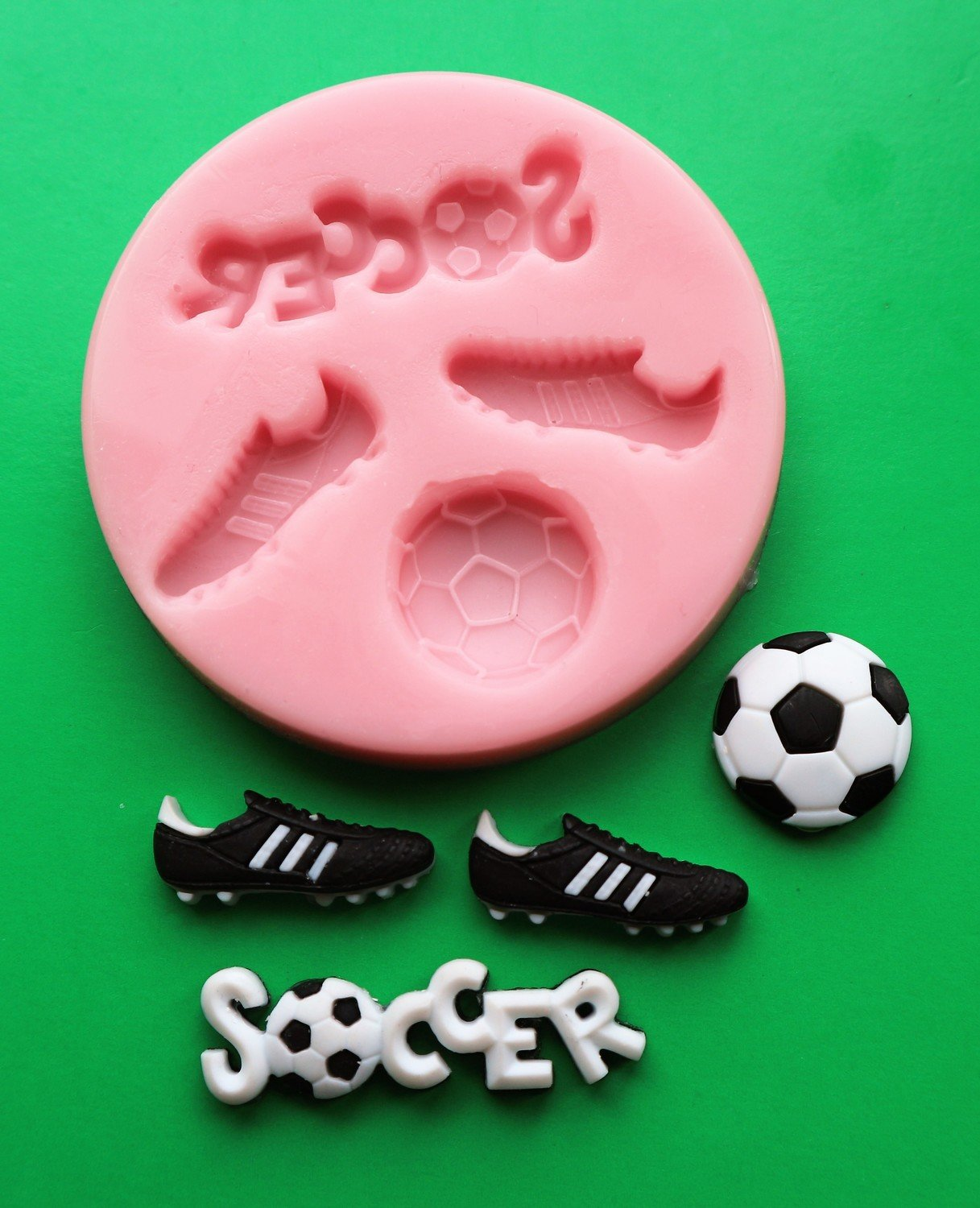 SOCCER SILICONE MOULD