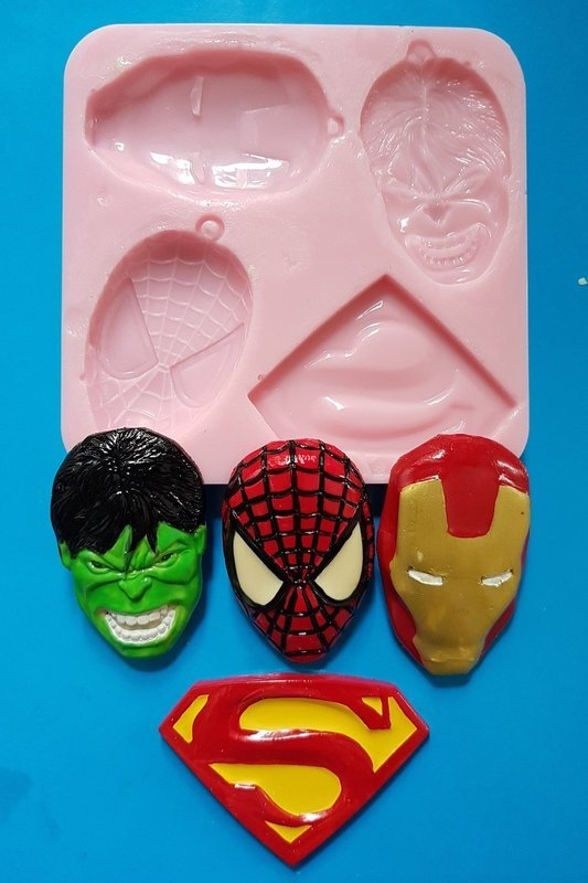 LARGE COMIC SET SILICONE MOULD