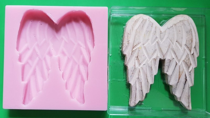 LARGE ANGEL WINGS SILICONE MOULD
