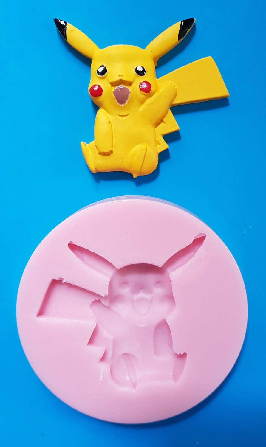 PIKACHU SILICONE MOULD