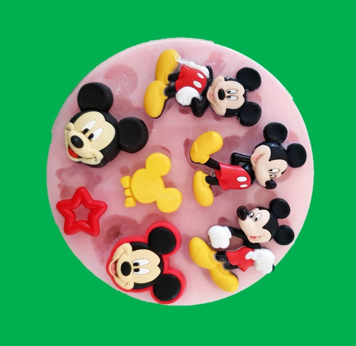 MICKEY SET SILICONE MOULD