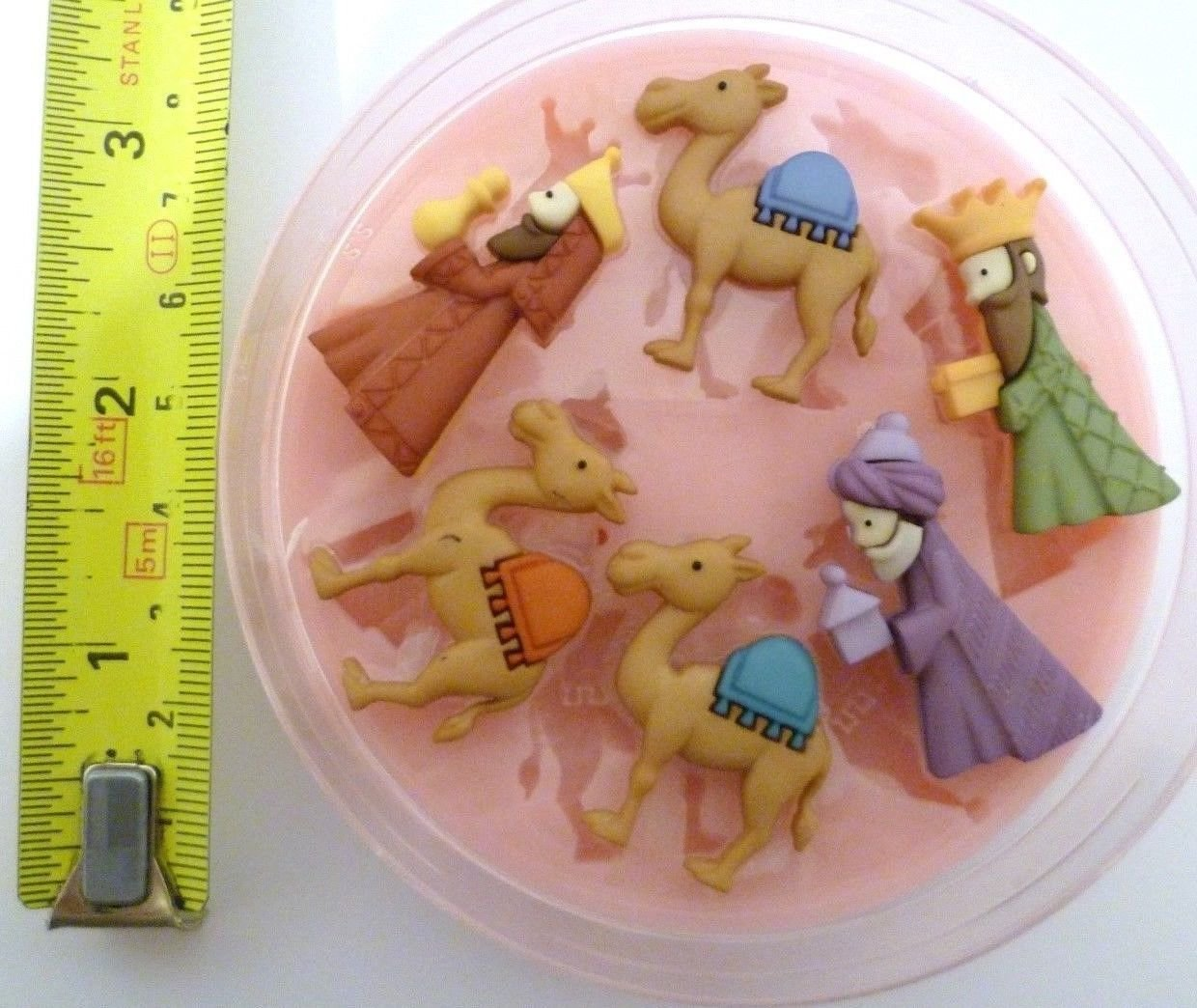 3 KINGS CHRISTMAS SILICONE MOULD