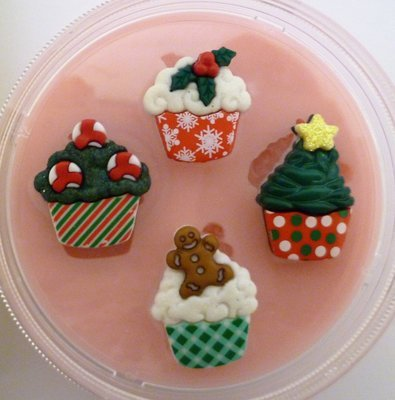 CUPCAKES CHRISTMAS SILICONE MOULD