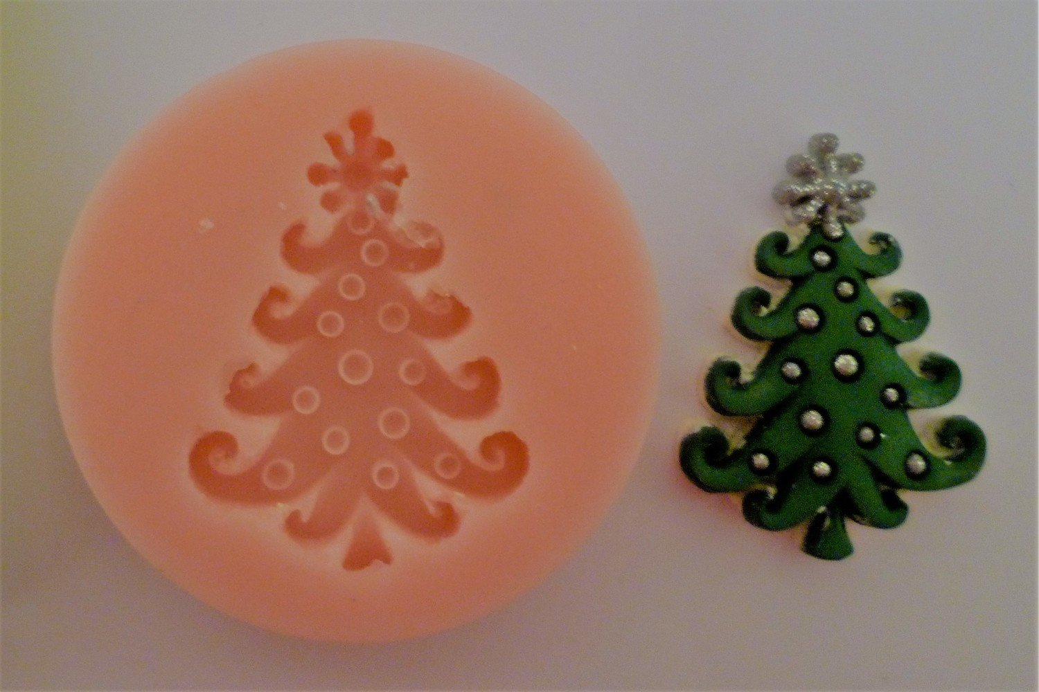 TREE CHRISTMAS SILICONE MOULD