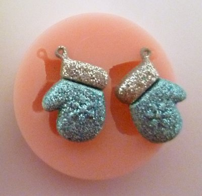 MITTENS CHRISTMAS SILICONE MOULD