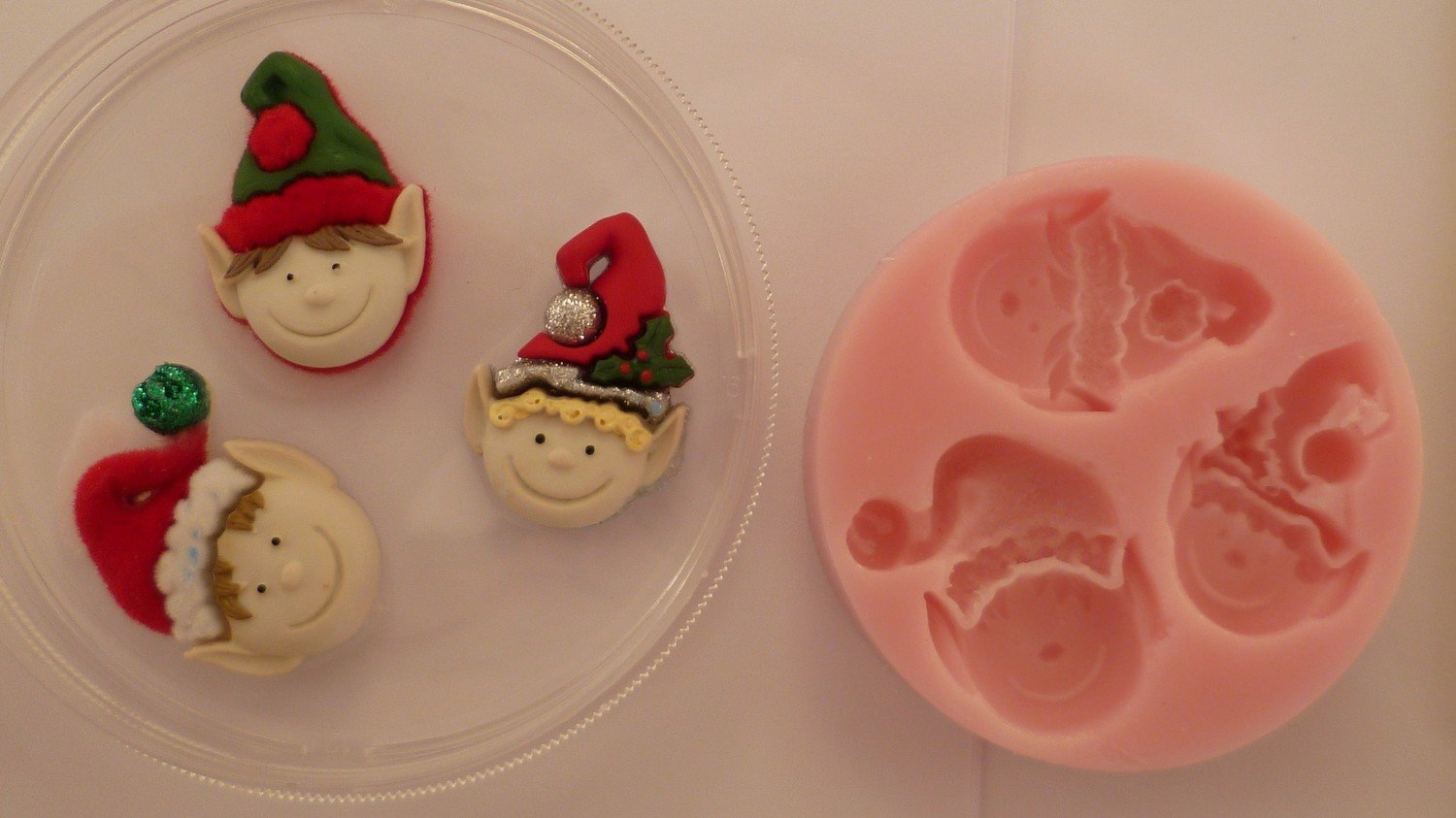 ELFS CHRISTMAS SILICONE MOULD
