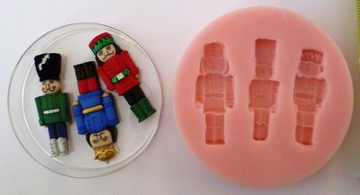 THE NUTCRACKER CHRISTMAS SILICONE MOULD
