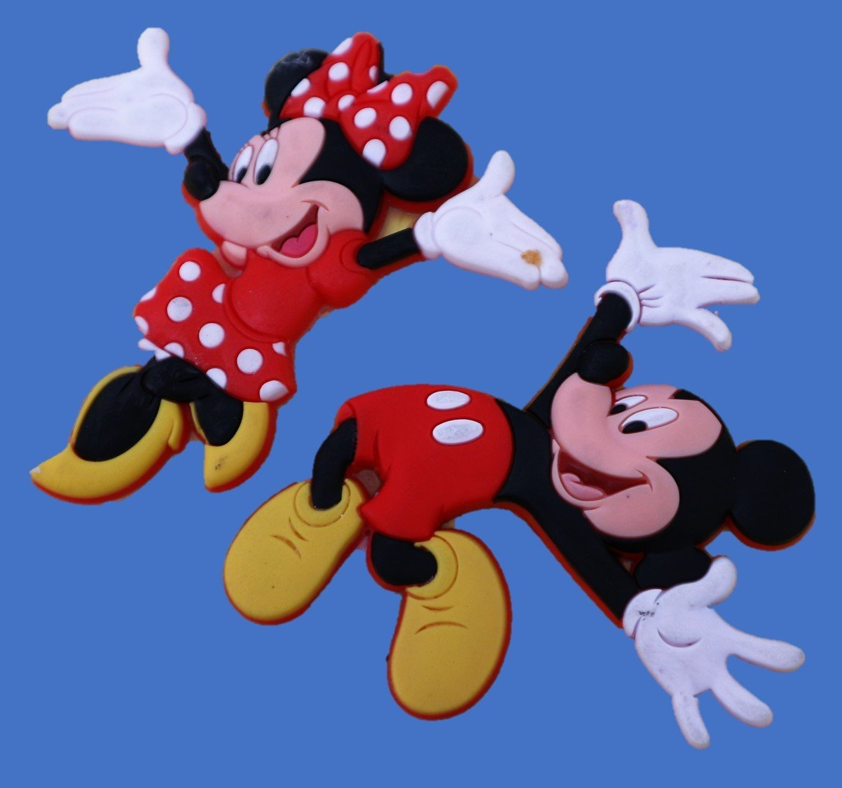 JUMPING MICKEY AND MINNIE SILICONE MOULD