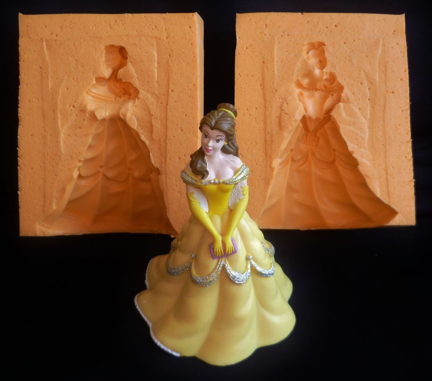 3D BELLE 002 SILICONE MOULD