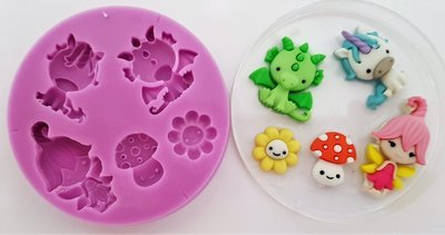 MYTHICAL SILICONE MOULD