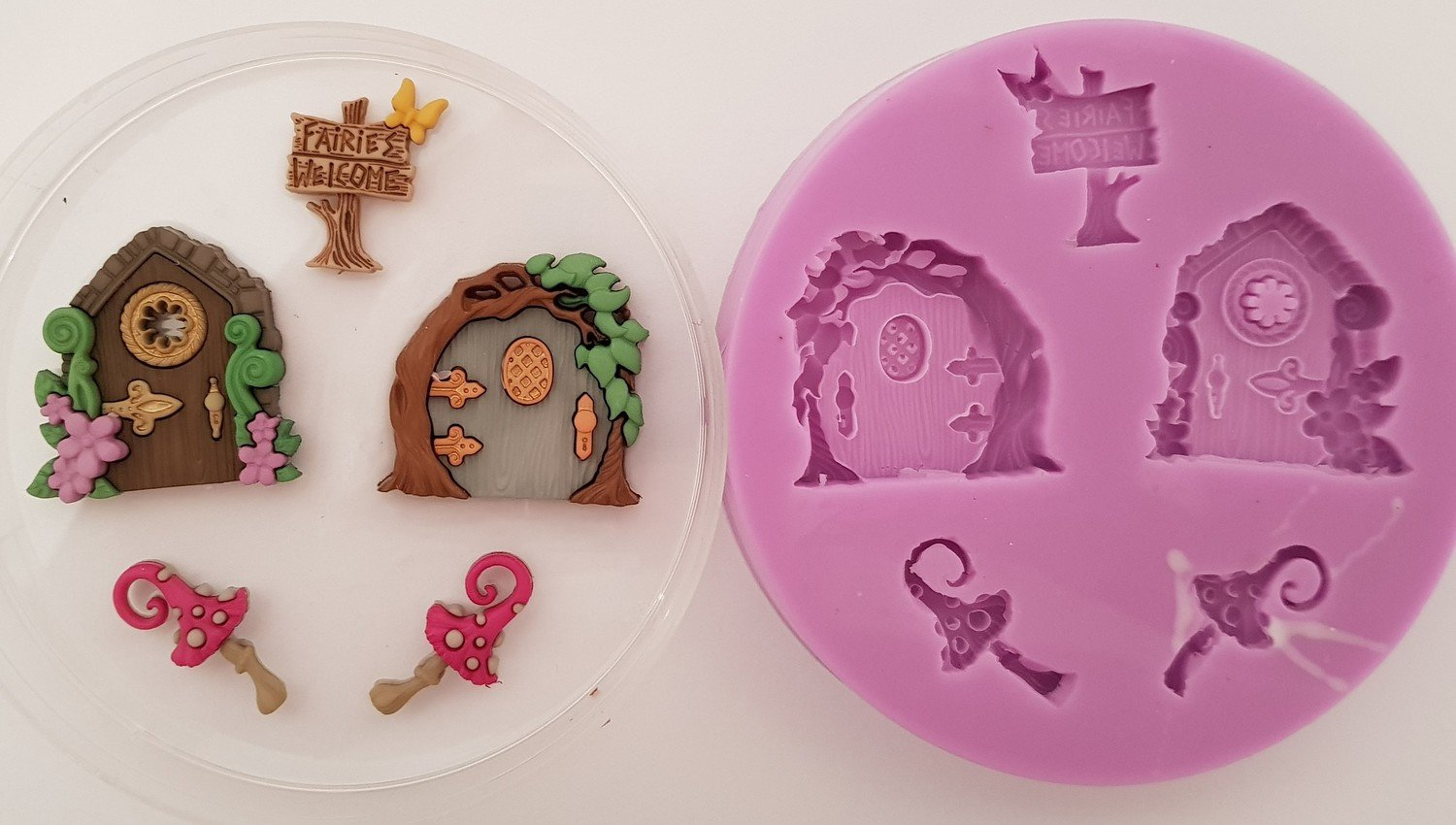 FAIRY DOORS SILICONE MOULD